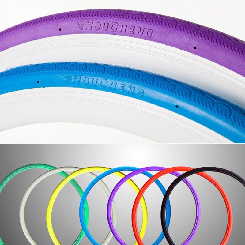 1pc 24*1 3/8 (610*35mm) vélo solide pneu Tube Non pneumatique 24 pouces vêtements de vélo résistant PU matériel en option couleur