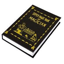 Metamopho livre magique (taille moyenne) colombe tours de magie objets apparaissant à partir de livre scène plate-forme Illusions magiques Gimmick Prop Fun
