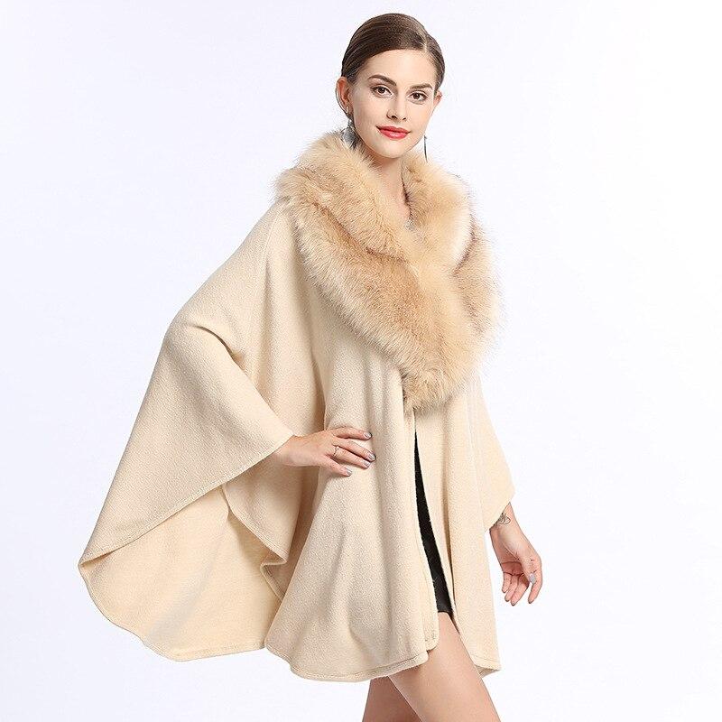 Spanish style fashion plus size knitted shawl cloakWinter Warm Shawl Wrap Female Knit Wild Soft Thick Blanket 2021 NEW