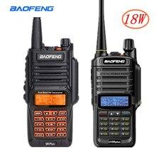 2Pcs 18W Baofeng UV-9R Plus Waterdichte Walkie Talkie Draagbare Cb Ham Radio 10Km Lange Afstand Dual Band hf Transceiver Transmit