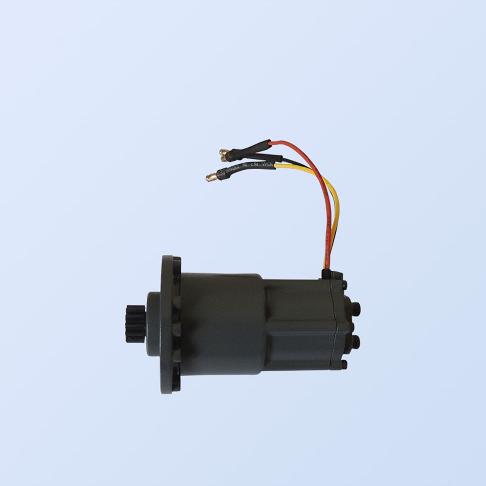 Rc Mini Toy Excavator Metal Steering Motor Fit For 1/12th Scale Remote Control Hydraulic Excavator Model enlarge