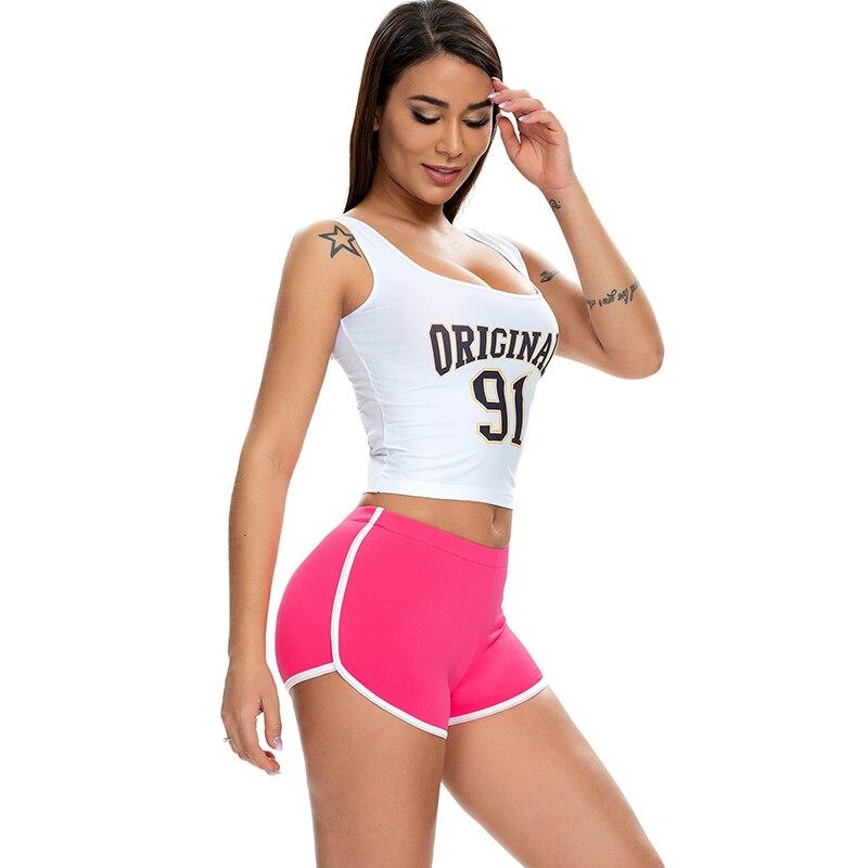 Pantalones cortos deportivos supersuaves para mujer, Shorts elásticos de corte alto para motorista, Pole Dance, Micro Mini, ajustados, moldeadores