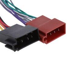 Adaptateur de connecteur dautoradio pour JVC   Adaptateur de connecteur de harnais de câblage ISO à 16 broches