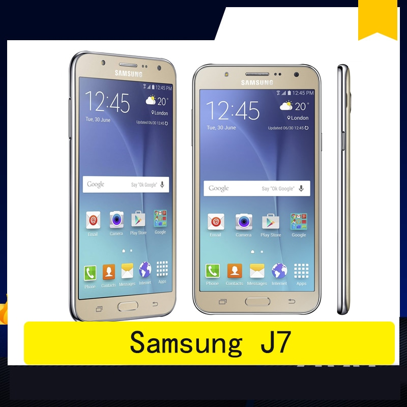 celular Samsung Galaxy J7 smartphone SM-J700F Dual SIM Mobile Phone 1.5GB RAM 16GB ROM 5.5
