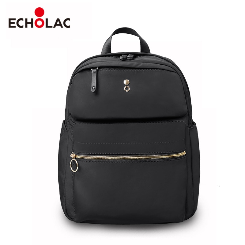 Echolac Fashion Backpack Travel Bags College Book Bags For Teens Women Backpack Microfiber Synthetic Leather Bags
