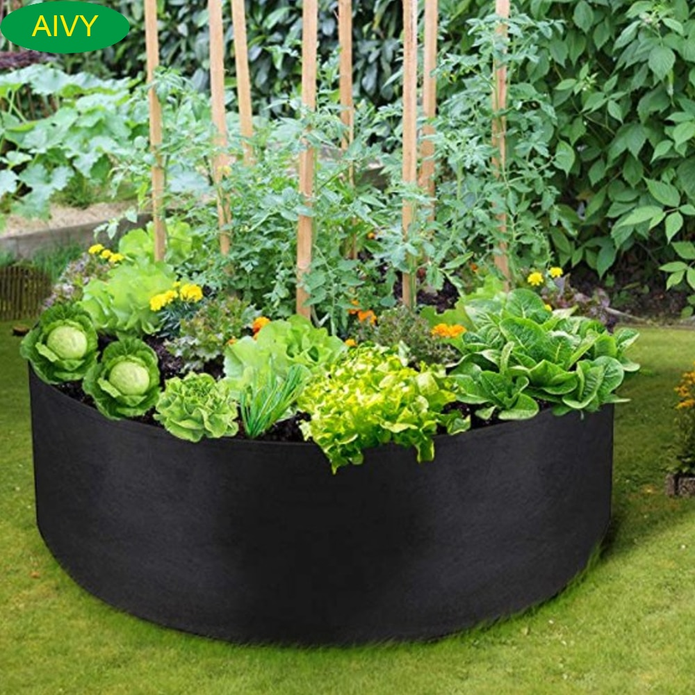 Мешки для выращивания домашних растений AIVY, садовые горшки, подъемные кровати для растений, для посадки цветов и овощей подъемные кровати с диваном
