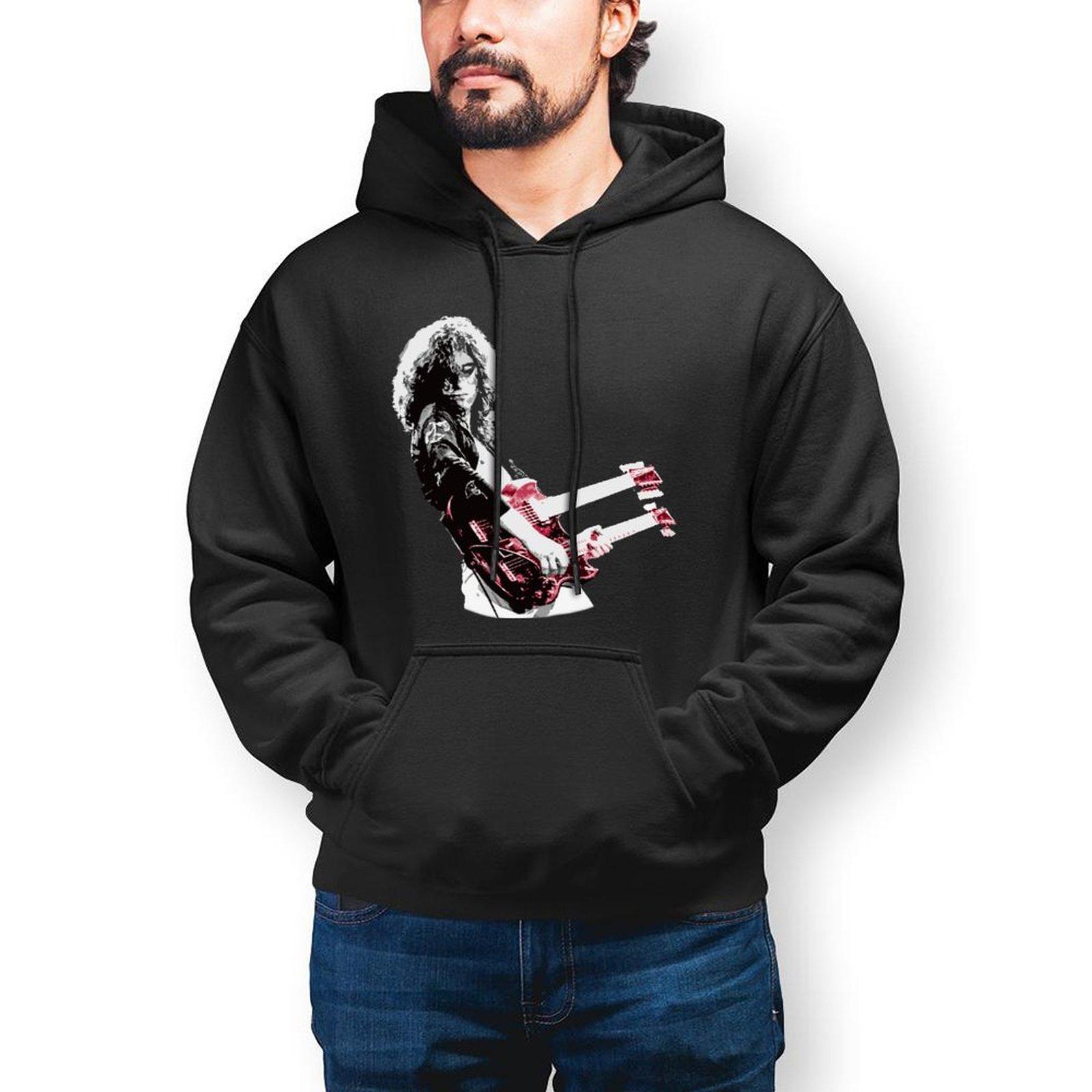 Толстовки из тяжелого металла, хлопковая уличная одежда, пуловер, толстовка, зимняя длинная Стильная мужская Толстовка XL