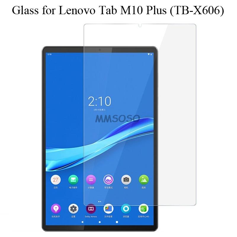Für Lenovo Tab M10 Plus FHD Gehärtetem Glas Screen Protector 9h Sicherheit Schutz Film auf M 10 Plus TB-X606F TB X606F