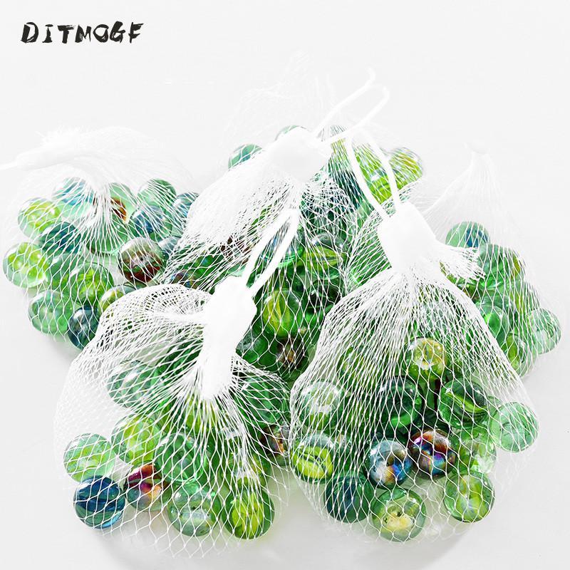 Стеклянные шарики, 20 шт., 14 мм, крема, консоль для игры, пинбол, машина для пота, маленькие шарики, ПЭТ игрушки, машинка для детей, бисер
