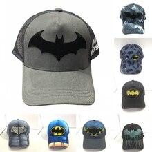The Dark Knight Bruce Wayne Baseball Cap Embroidered Hat Cosplay Prop