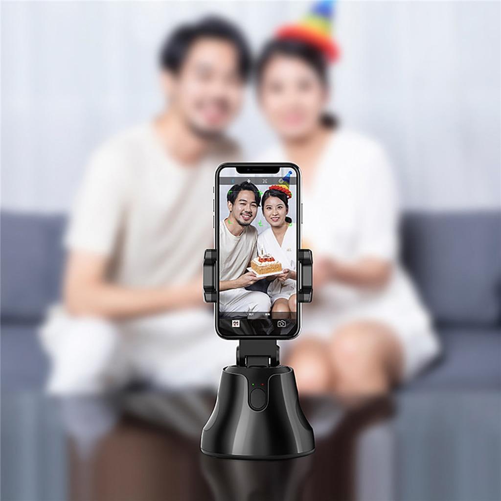 Smartphone cardan 360 Rotation pour Vlog enregistrement vidéo visage suivi et prise de vue intelligente opération Simple