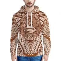 samoa custom pattern polynesian printing mens hoodies hoodie customize your design standard oversized pullover sweatshirts