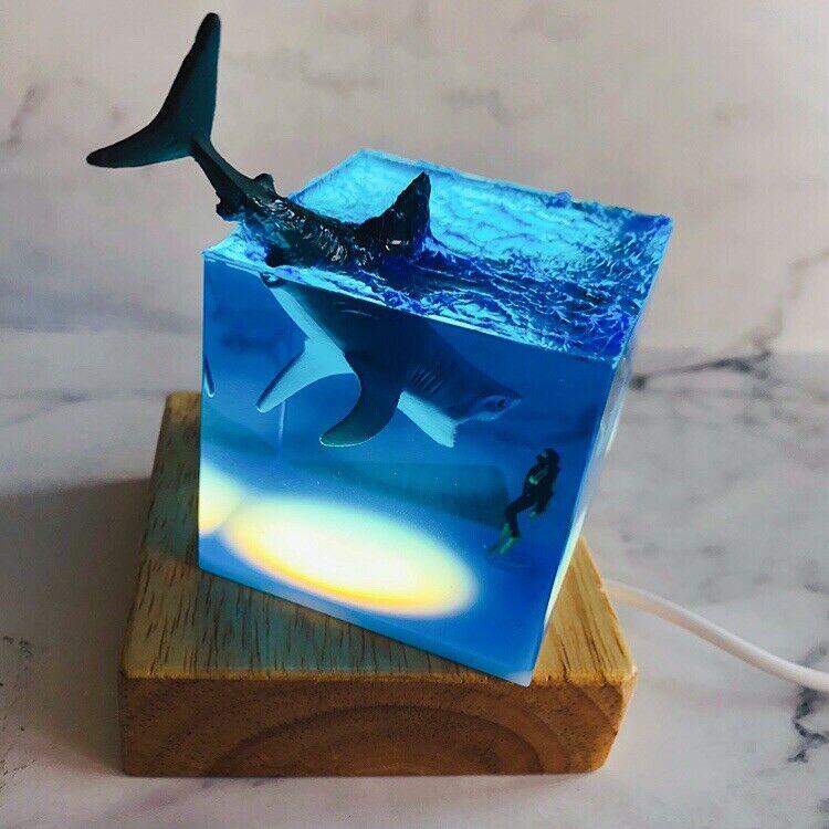 В наличии! Набор для студийной фотосъемки «Акула», украшение для дайвинга, фотоколлекционная светящаяся игрушка, креативный подарок, фигур...