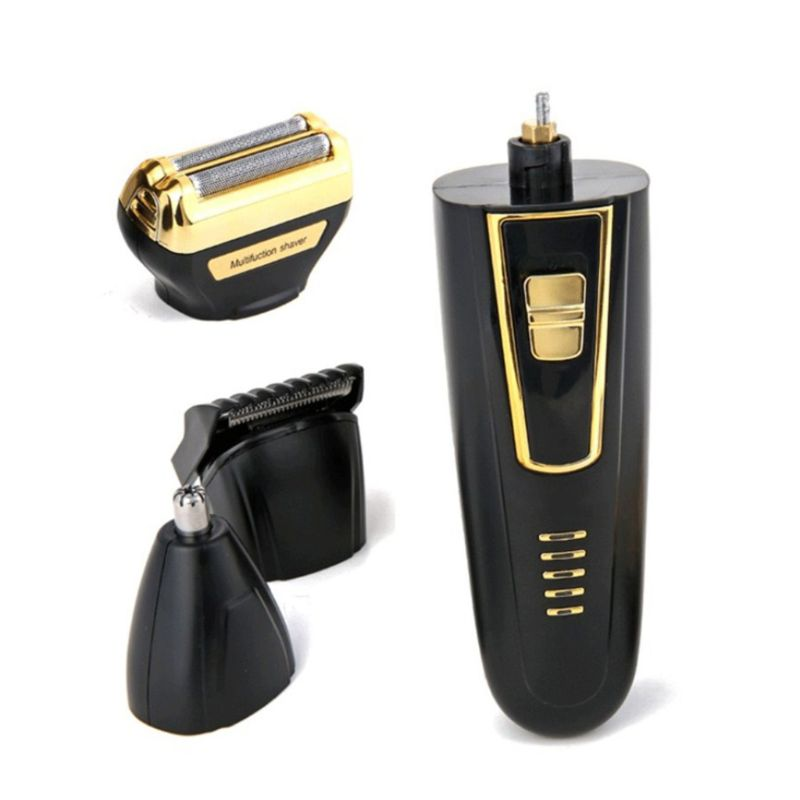 Cordless Electric Shavers Hair Clippers, Rechargeable Nose Hair trimmer for men Wet Dry Electric Shavers Men, Waterproof enlarge