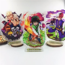 Anime mon héros académique porte-clés Midoriya Izuku tout pourrait Bakugou Katsuki Todoroki Shoto mignon amusant dessin animé acrylique porte-clés bijoux