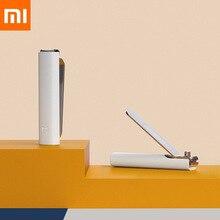 Xiaomi Mijia-cortaúñas a prueba de salpicaduras, Original, cuchillo de acero inoxidable 420, para belleza, mano, pie