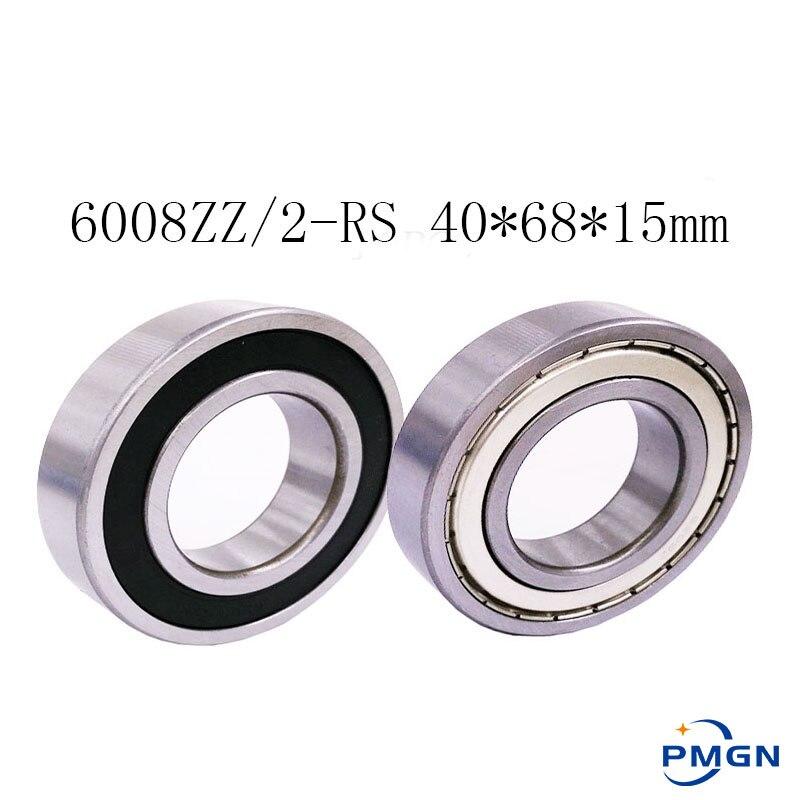 Bearing 6008 6008RS 6008RZ 6008-2RS1 6008-2RS 40x68x15 High quality Deep Groove Ball Bearings ABEC-5 6008ZZ 6008 40*68*15 mm