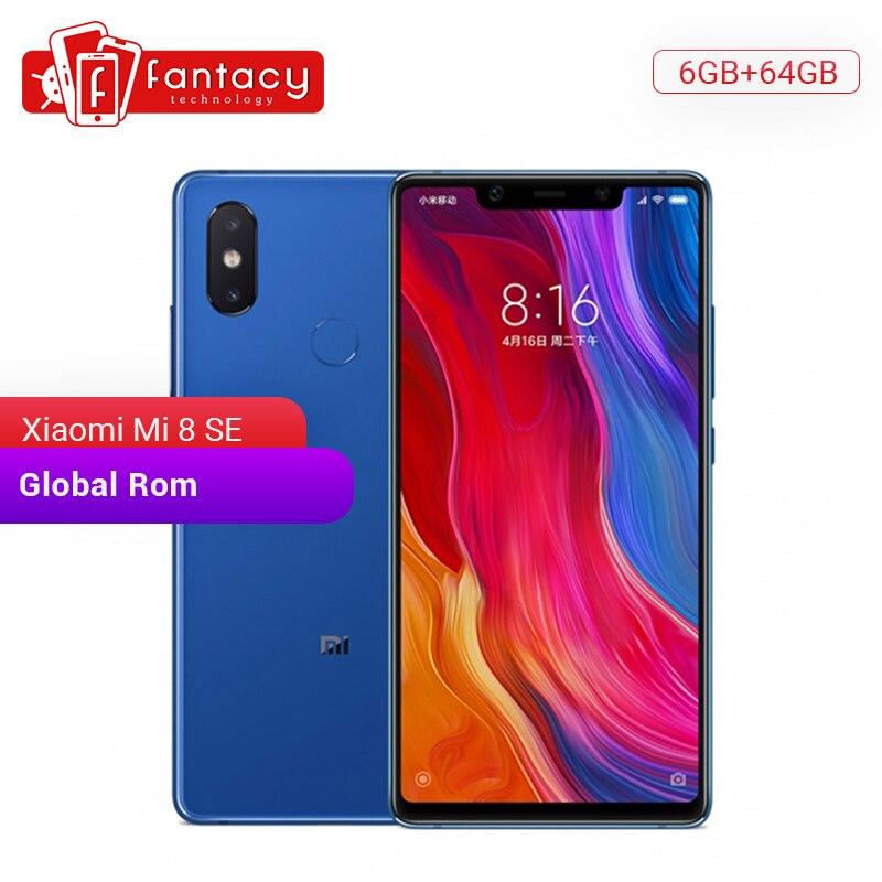 "Global Rom Xiaomi Mi 8 SE 6GB 64GB Snapdragon 710 Octa Core 5,88 ""AMOLED Pantalla Completa teléfono inteligente de carga rápida 3,0"