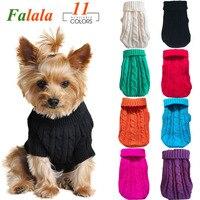 Женская зимняя одежда для домашних животных для маленьких собак, женская одежда, Мягкая шерстяная футболка для собак, куртка
