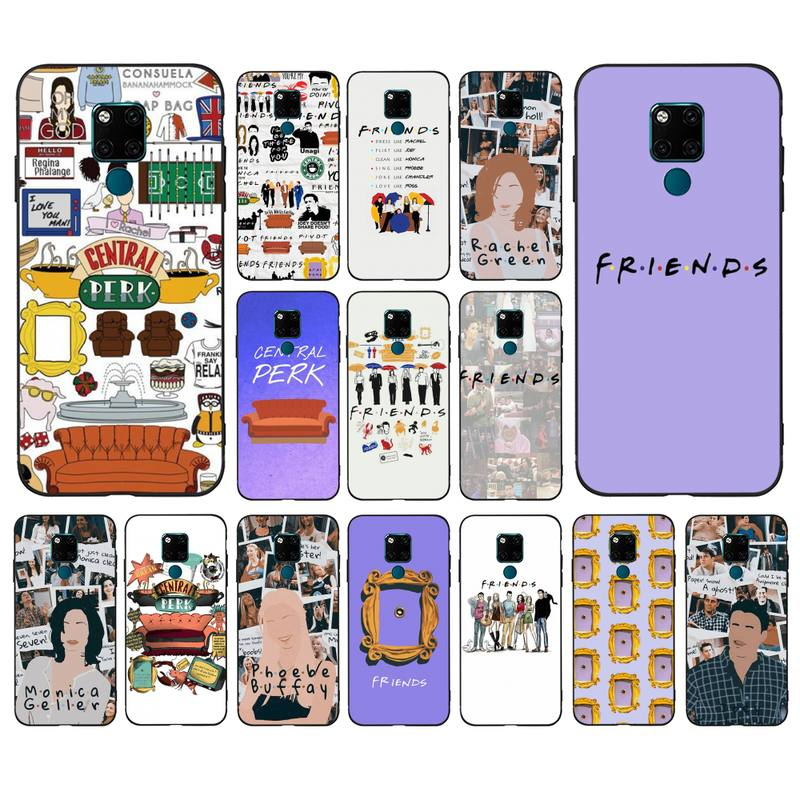 Lvtlv Central Perk Vrienden Telefoon Case Voor Huawei Mate 10 20 Lite Pro X Honor Play Y6 5 7 9 prime 2018 2019