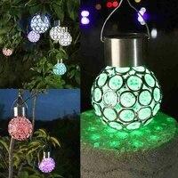 solar led light waterproof garden decoration lantern street balcony sunlight landscape yard solar powered lawn lamps