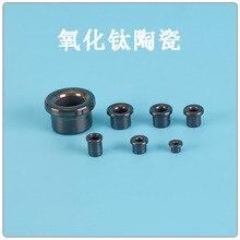 Titanium oxide ceramic eye textile winding machine wear resistant alumina magnetic bead porcelain bead porcelain hole magnetic e