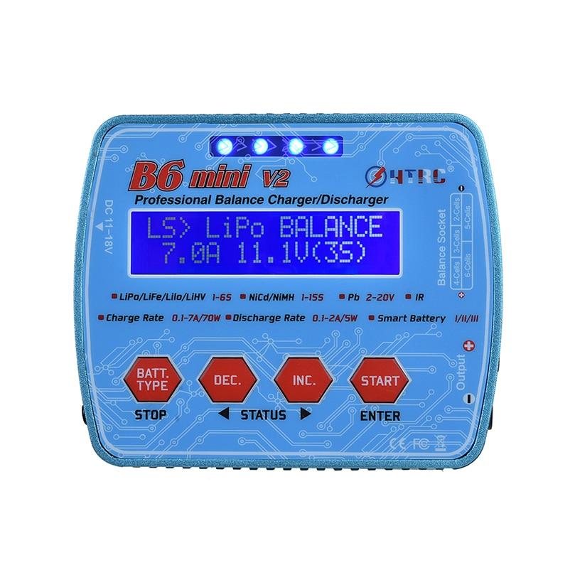 Novo imax b6 mini v2 80 w digital rc bateria balance carregador pb lihv liion vida nicd nimh inteligente bateria descarregador