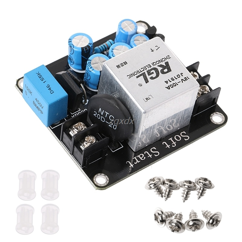 100A 4000W High-Power Soft Start Circuit Power Board for Class A Amplifier Amp FREE SHIPPING 2018 hot sale 1pcs tda7294 subminiature power amplifier empty board free shipping