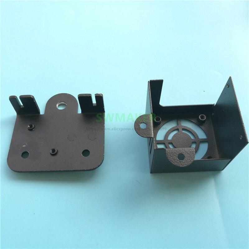 CR-10 Alle Metalen X Vervoer Plaat en Fan cover voor X-as Creality CR-10, CR-10S, CR-10-S, ENDER-3, ENDER-4, TEVO 3D printer