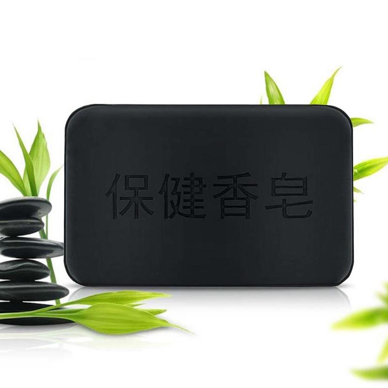 Face Body Healthy handmade Propolis Bamboo Charcoal Soap Personal Care Whitening Rejuvenation Tourmaline Soap For Bath & Shower