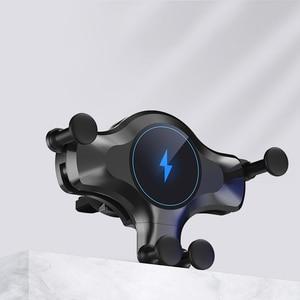 Image 4 - 10 Вт автомобильное беспроводное зарядное устройство для iPhone 12 11 Pro Max XS XR X Автомобильное гравитационное крепление для Samsung S21 Note 20 Ультра зарядное устройство держатель для телефона