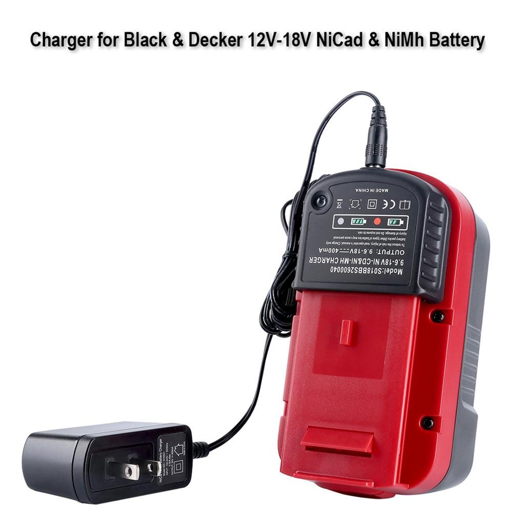 Eplacement chargeur de batterie nicd nimh double usage pour Black pour Decker 9.6V-18V NiCd NiMh HPB18 batterie HPB18-OPE