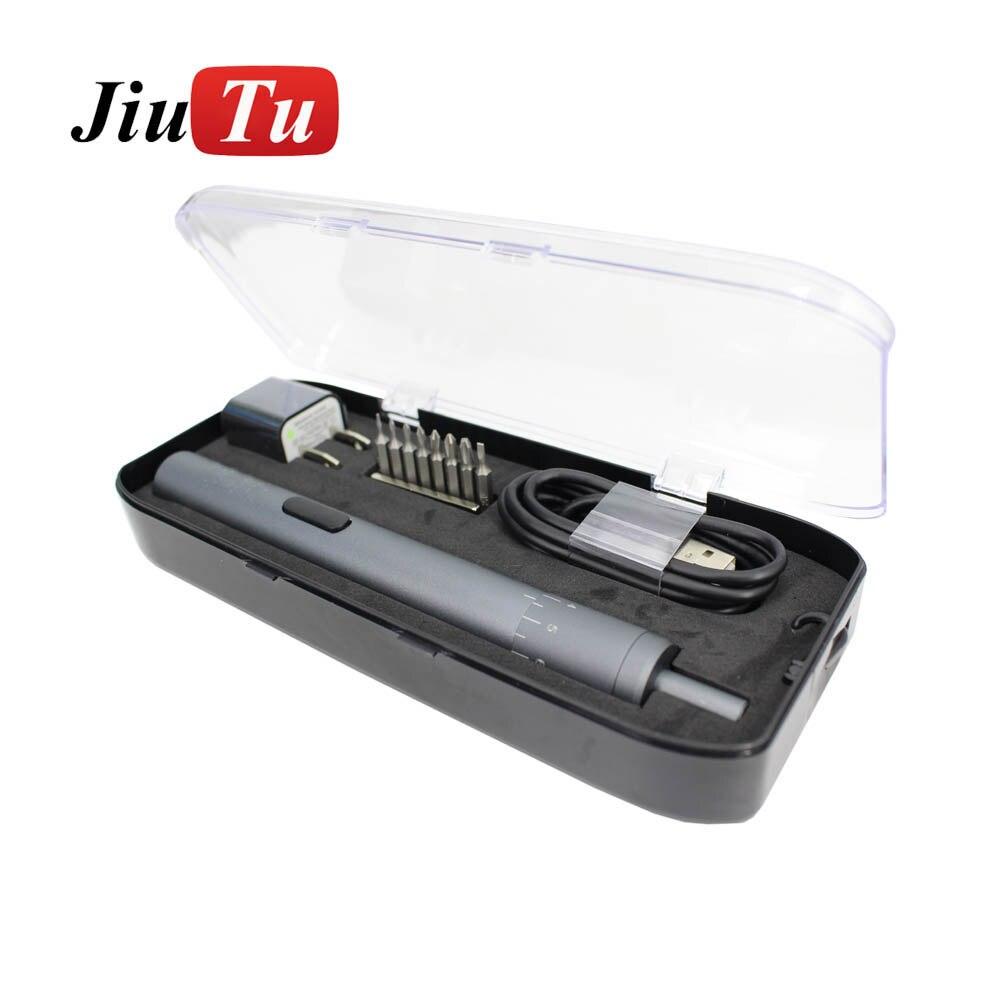 Jiutu-مفك كهربائي لاسلكي صغير مع فرامل قابلة للتعديل ، شحن USB ، طاقة قابلة لإعادة الشحن ، عزم دوران