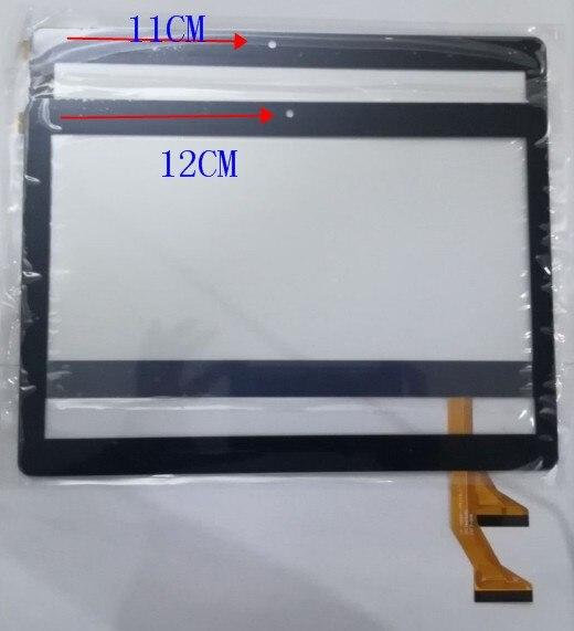 "ZGY para 10,1 ""FinePower A2 3G DP101325-F1 DP101325-F1 Tablet Panel táctil digitalizador Sensor de vidrio envío gratis"