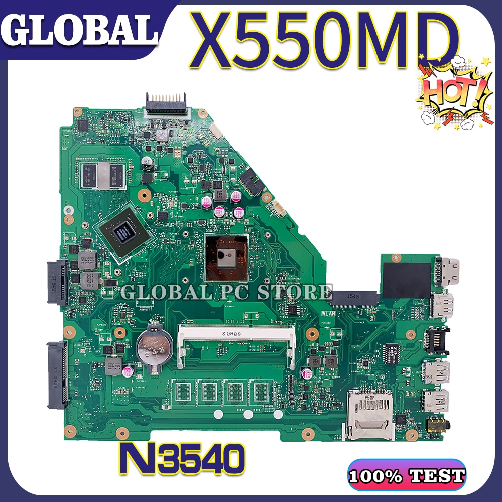 KEFU ل ASUS اللوحة المحمول X550MD X550MJ X552M X550M Y582M اللوحة 100% اختبار موافق N3540 GT920M