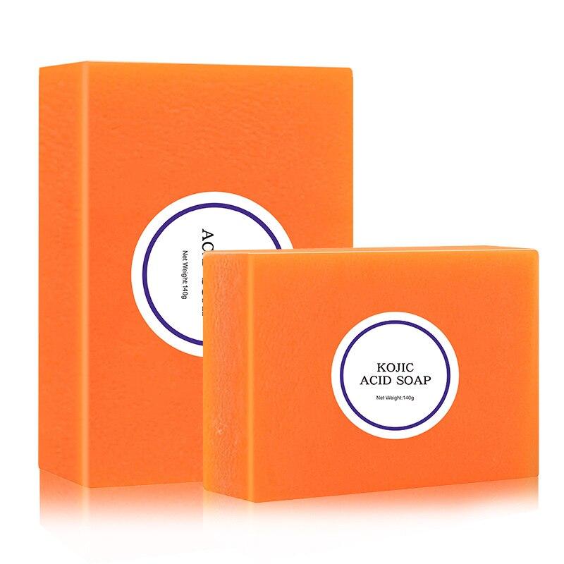 Dark Black Skin Lightening Soap Kojic Acid Whitening Soap Kojic Acid Glycerin Brighten Face Body Skin Bleaching Soap 100g