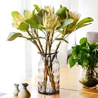 artificial flower single imperial flowersuitable for hotel room flower arrangementwedding party decorationgreen plant flower