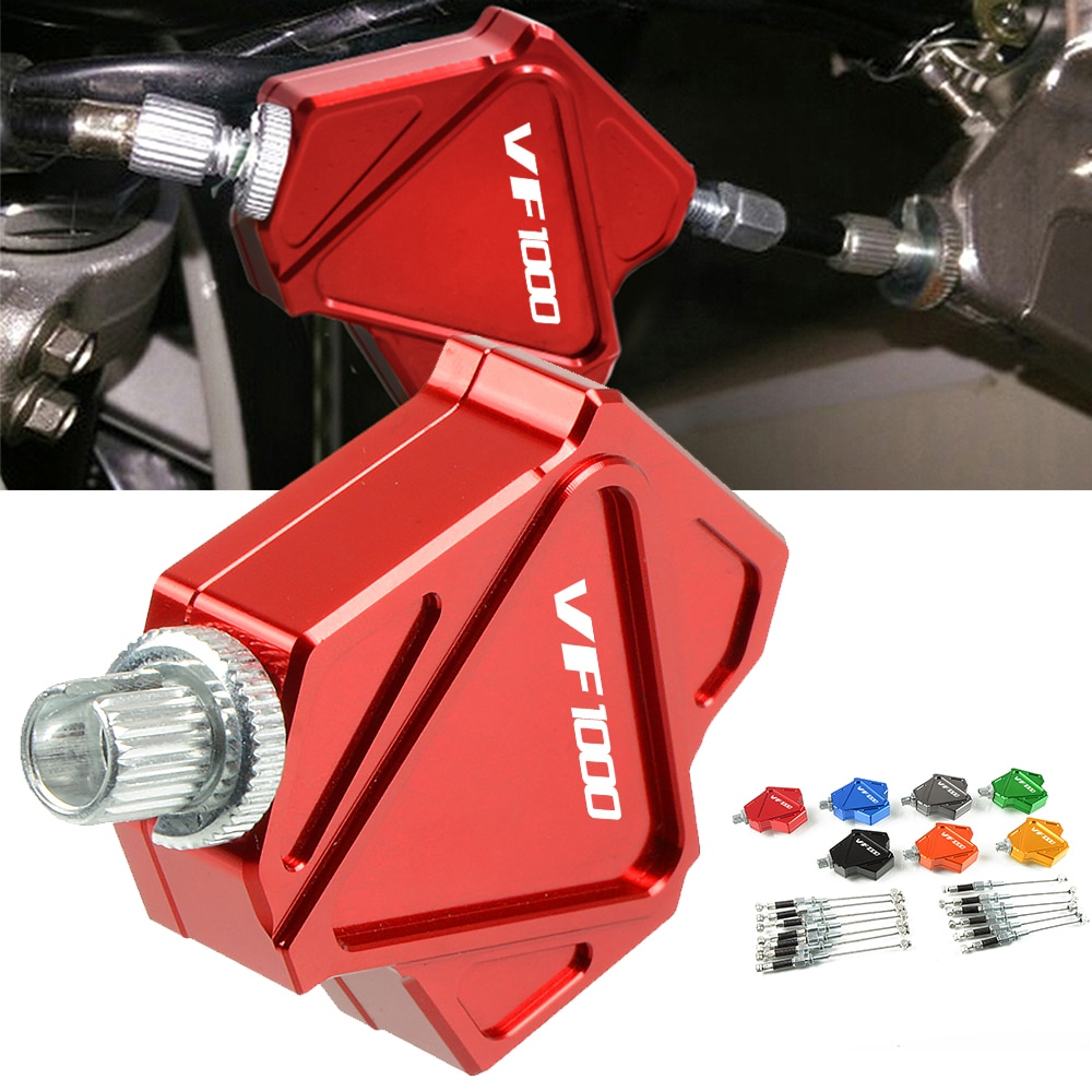 Easy Pull Clutch Lever Motorcycle Aluminum Stunt Clutch Cable Easy System For HONDA VF1000 VF 1000 1997-2004 2005 2006 2007 2008