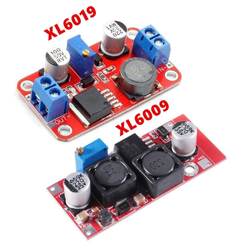 2000w 74a 27v power supply 27v 74a output voltage current adjustable ac dc 0 5v analog signal control dc27v 0 27v DC-DC power supply module boost module step-up voltage converter Voltage regulator XL6019 XL6009 adjustable output