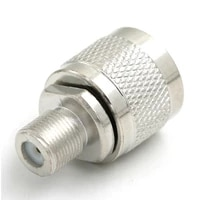 high quality 1pc nf type rf connector adapter n male to f female wholesale