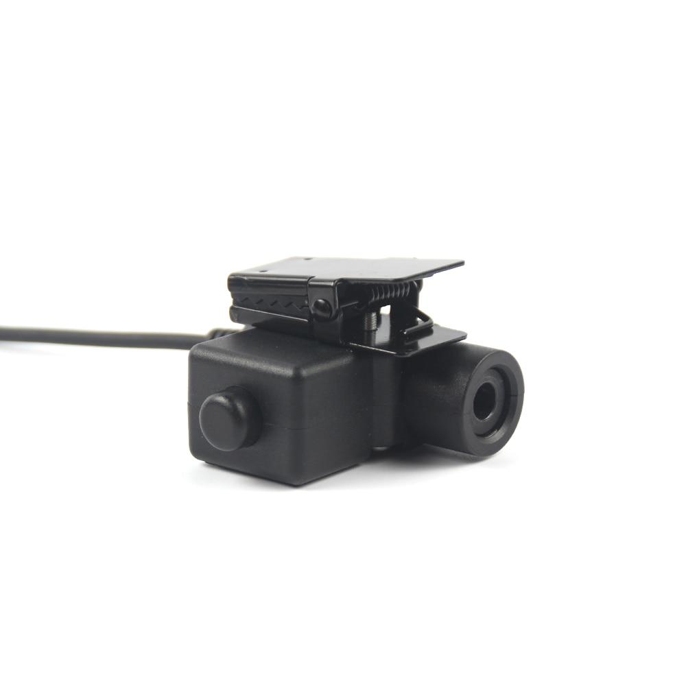 Walkie Talkie Microphone Heavy Duty U94 PTT Neck Throat Mic Earpiece Radio Nato Tactical Headset connector for Baofeng Kenwood enlarge