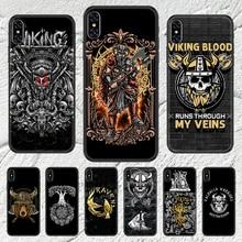 Viking Nordic Vegvisir Odin Nordic Phone Case Cover Hull For iphone 5 5s se 2 6 6s 7 8 12 mini plus