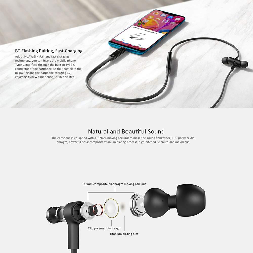 Original Huawei FreeLace Wireless Bluetooth Earphone HiFi Sport Headset Waterproof Earplugs Earphones For Oneplus Xiaomi Samsung enlarge