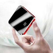Mini banque de puissance de roche 20000mAh pour liphone Xiaomi Powerbank batterie externe chargeur portatif chargeur portatif de Mi