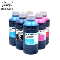 6color x 1l uv dye ink for epson d700 dx100 pp 100 pp 50 pp 100n pp 100ii pp 100ap pp 100iii pp 50bd bulk ink refill cartridge