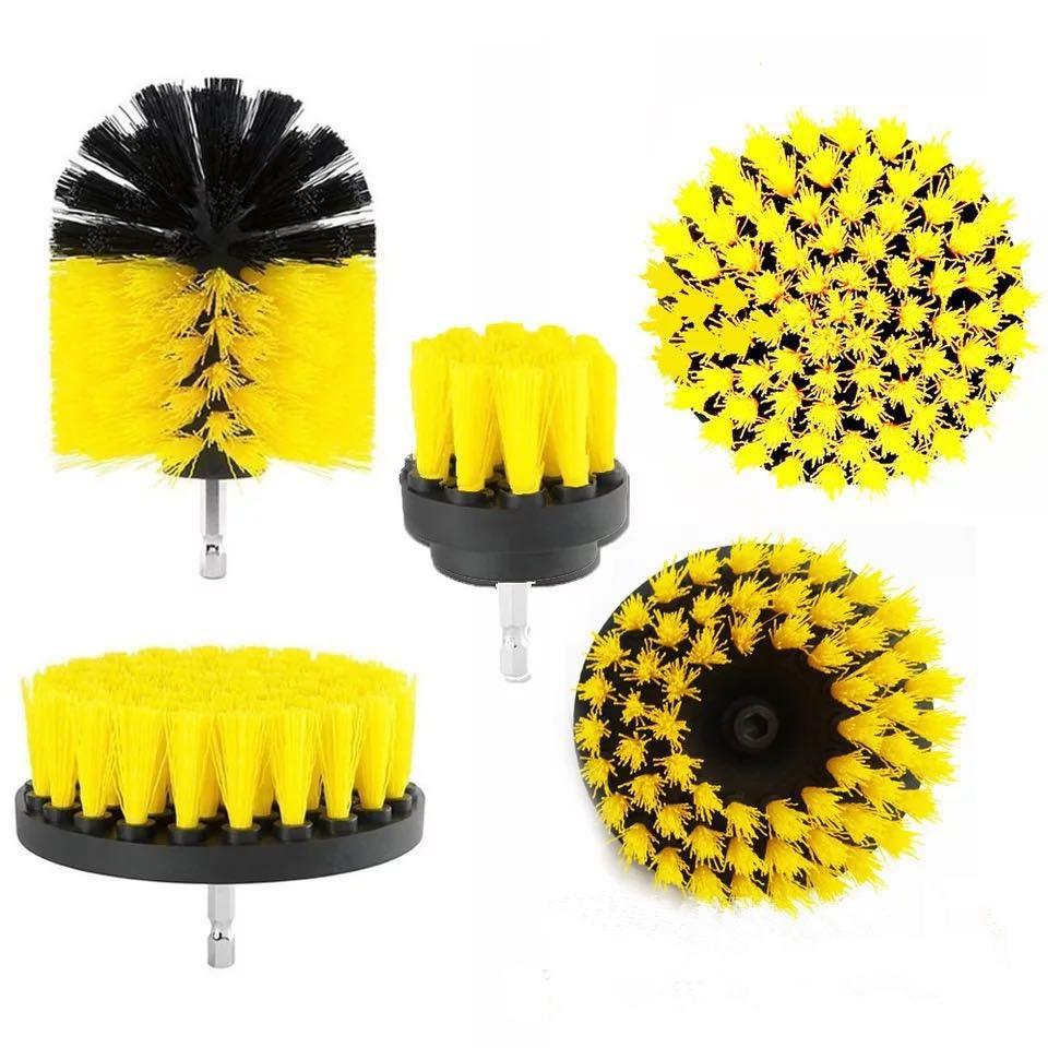Набор кистей для электрической дрели, щетка для полировки пола, щетка для электрической дрели, щетка для керамической плитки