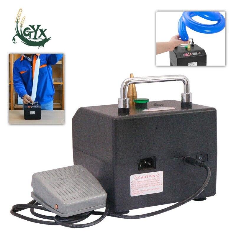 المحمولة الكهربائية بالون نافخة مضخة الكمية التلقائي ضاغط الهواء شريط طويل بالون التضخم منفاخ