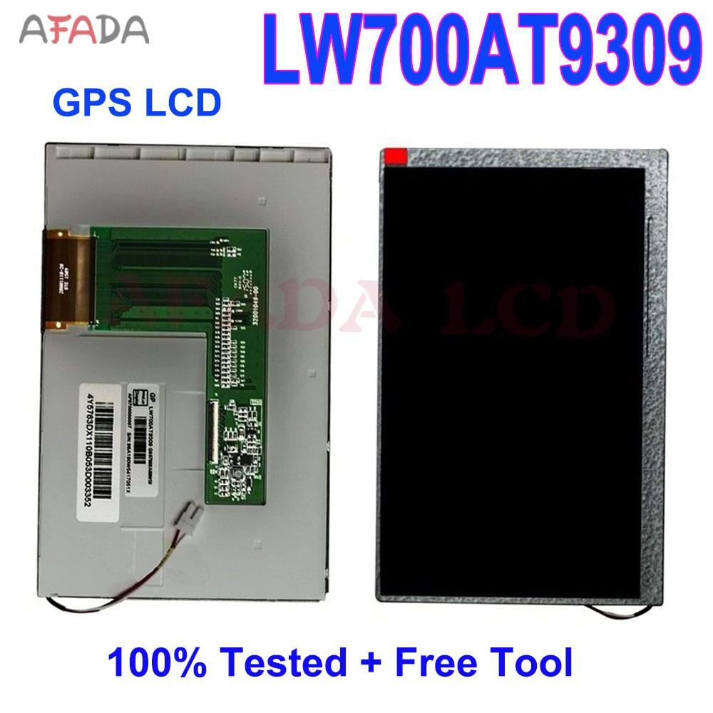Оригинальный ЖК-экран 7,0 дюйма LW700AT9309, 2 шт., замена панели ЖК-дисплея