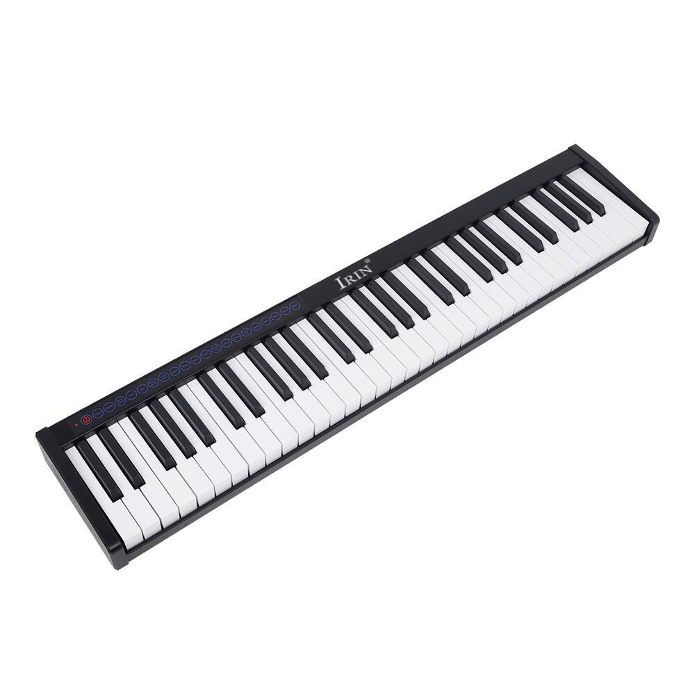 61 Keys Smart Portable Piano Velocitys Sensitive Keyboard Full Size Ultra-thin Electronic Piano enlarge