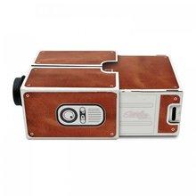 Segunda Generación compacto DIY teléfono inteligente Digital Home Theater entretenimiento proyector Fácil instalación